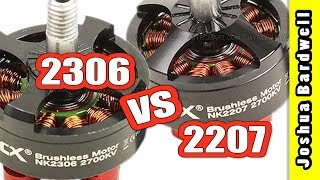 RCX 2306 vs 2207 Motor For FPV Mini Quad | WHICH IS BEST