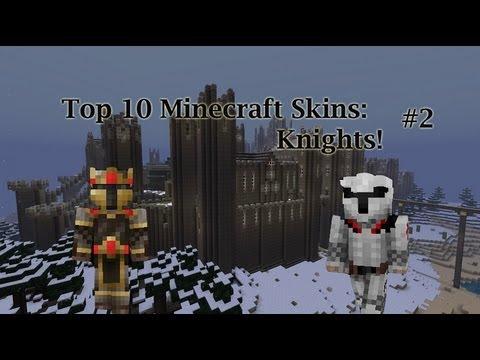 Minecraft Skins Top 10 Awesome Minecraft Skins Knight Minecraft Skins #2
