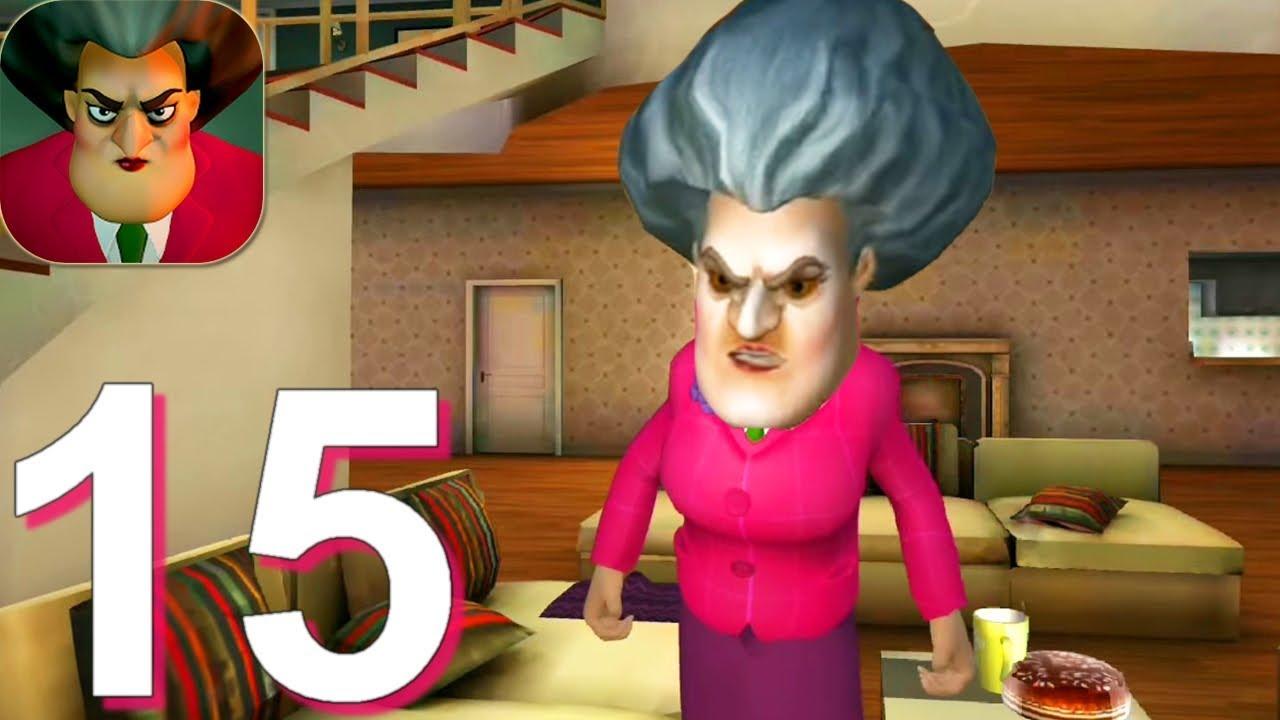 Scary Teacher 3D - Gameplay Walkthrough Part 15 Pin Pranks (Android, iOS)