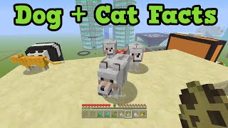 Minecraft 5 Things You Didn't Know About Cats & Dogs