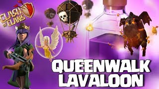 Queen Walk + Lavaloon Angry Angels event coc :TH9 ATTACK STRATEGY | 3 star ATTACK Clash of Clans
