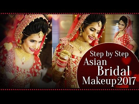 Step By Step Asian Bridal Makeup Tutorial 2018