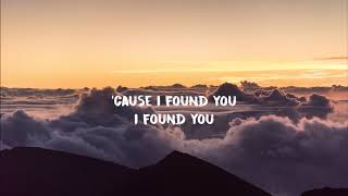 benny blanco, Calvin Harris - I Found You (Lyrics) Video