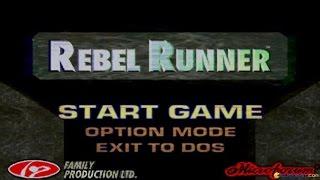 Rebel Runner gameplay (PC Game, 1996)
