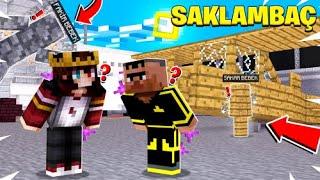 HAVAALANINDA SAKLAMBAÇ OYNADIK !! 😱 - Minecraft