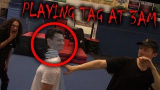 *SCARY* DO NOT PLAY TAG AT 3 AM!! (SOMETHING ELSE WANTS TO PLAY!)