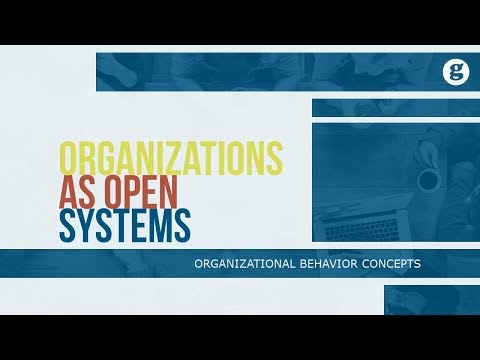 Organizations as Open Systems