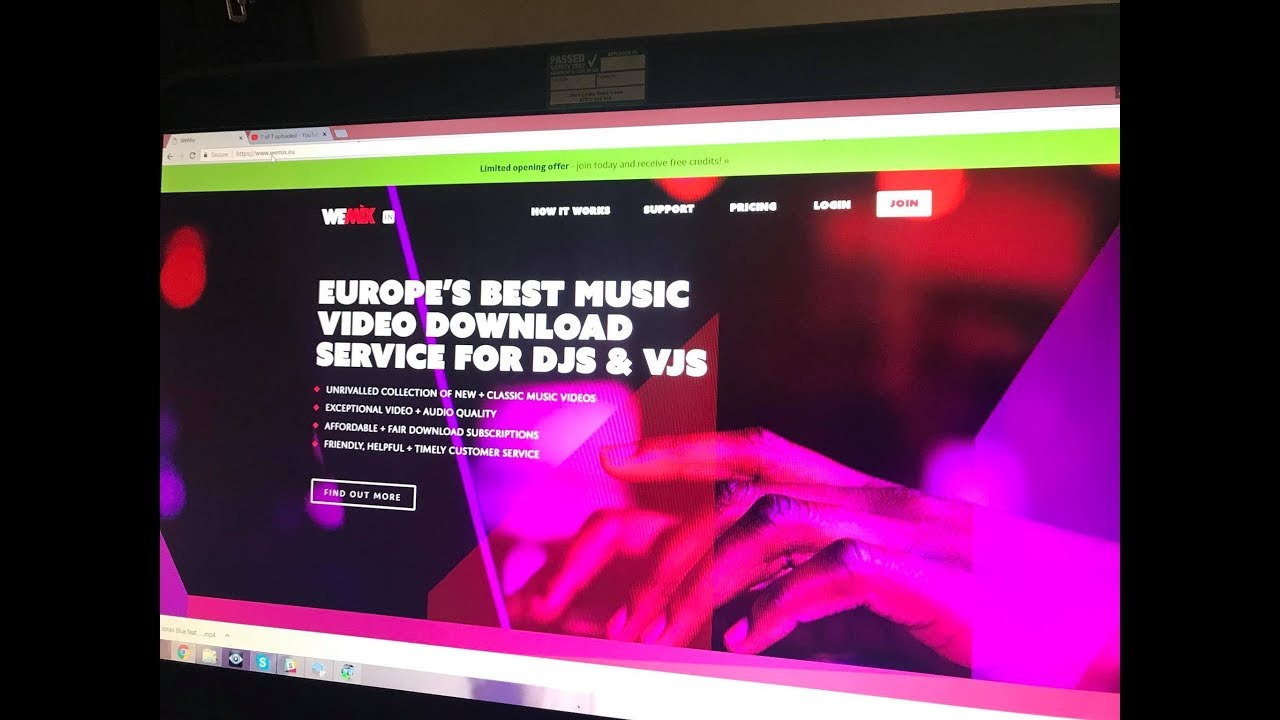 Wemix The All New Download Site For Dj Vj Free Music Offer Ends