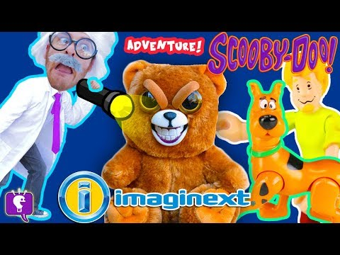HobbyHarry Adventure to Find Mysterious Creature! ScoobyDoo Imaginext Toy Review by HobbyKidsTV