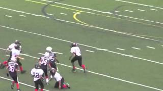 Biggest 12 Year Old Football Hit