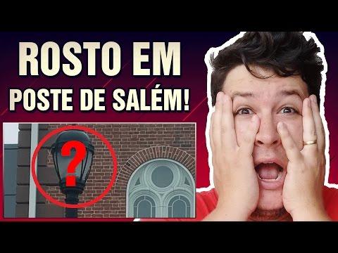 Rosto Fantasmagórico Aparece em Poste de Luz na Cidade de Salem-EUA! (#145 Minuto Assombrado)