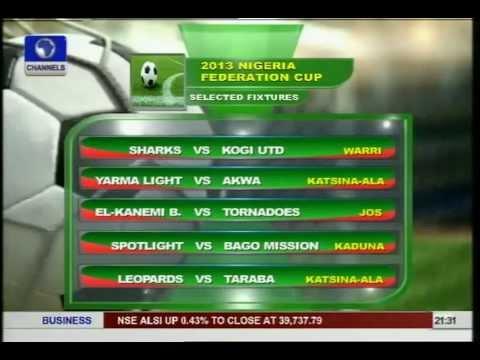 Nigeria Nat'l League Results,Federation Cup Fixtures