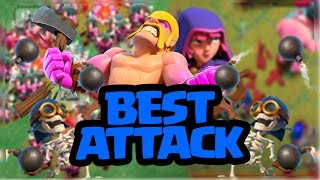 BEST BUILDER HALL 7 ATTACK STRATEGY   3 STAR ANY BH7 BASE   BH7 ATTACK STRATEGY