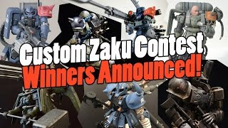 1143 - Custom Zaku Contest Winners Announced!