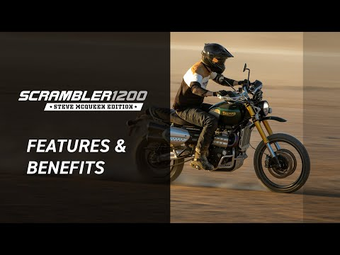New Scrambler 1200 Steve McQueen Edition Features and Benefits