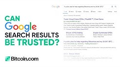 Don't Trust Google Search Results - Roger Ver