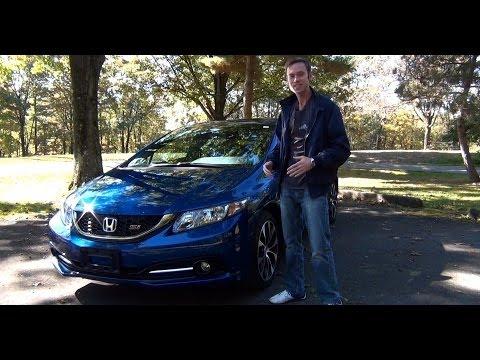 Review 2013 Honda Civic Si Sedan