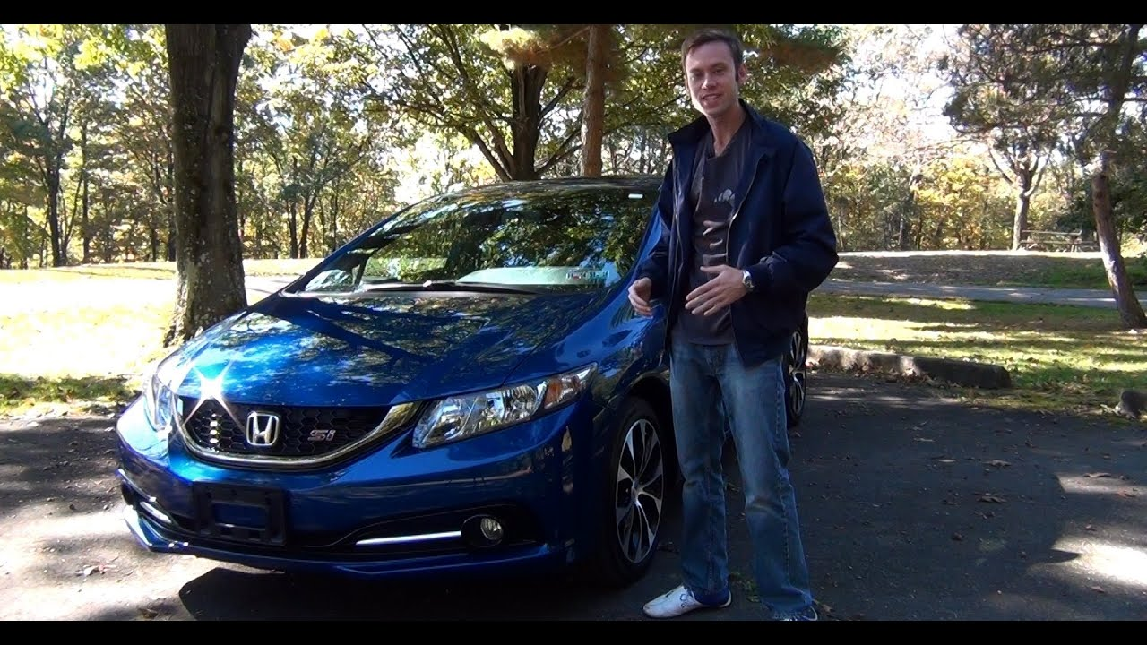 Great Review: 2013 Honda Civic Si Sedan   YouTube
