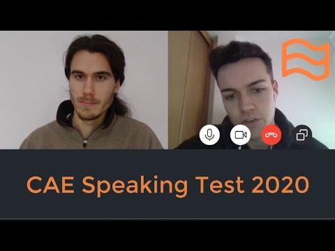 CAE Speaking Test 2020