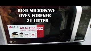 LG 21 Ltr Microwave Convection Oven Unboxing | RB