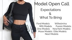 Modeling Open Call l What to Wear & Expect At An Open Call