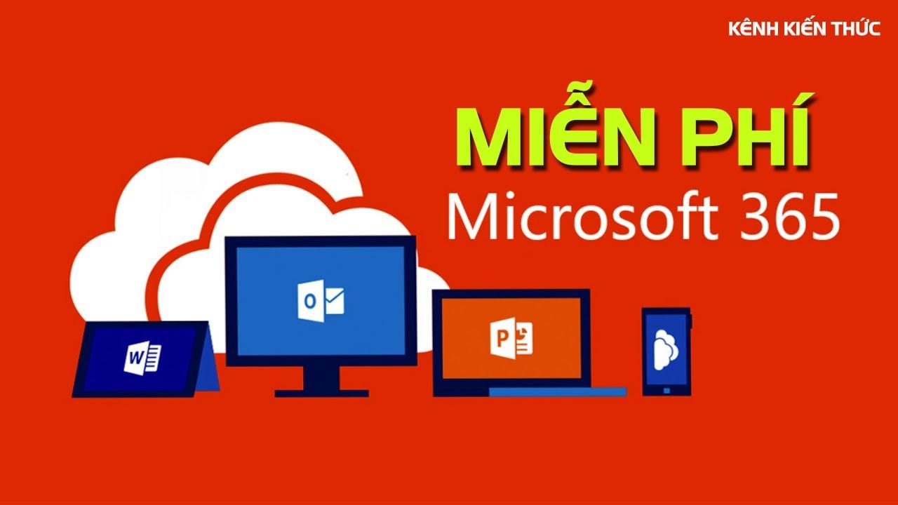 Hướng dẫn tạo tài khoản Office 365 Education miễn phí