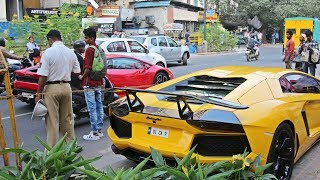 SUPERCARS IN INDIA - OCTOBER 2017 (Bangalore) Part 2