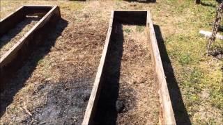 Rebuilding The Raised Planter Boxes