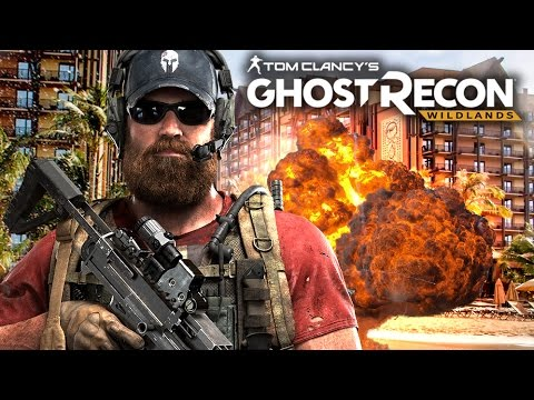 GHOST RECON Wildlands Gameplay | Destroying a COCAINE RESORT! | Campaign Part 2