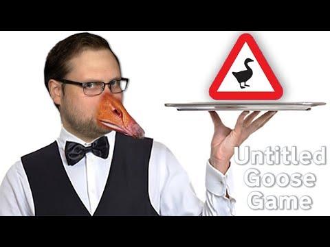 ГУСЬ УСТРОИЛСЯ НА РАБОТУ ► Untitled Goose Game #4