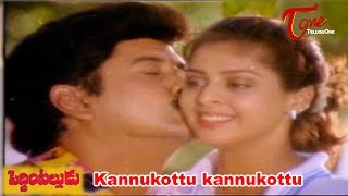Peddinti Alludu Movie Songs || Kannukottu kannukottu || Suman || Nagma