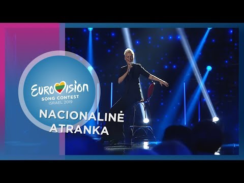 "Aldegunda - ""I want your love"" - Nacionalinė Eurovizijos atranka"