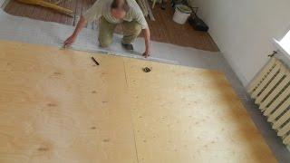 Правильная укладка линолеума на деревянный пол в доме