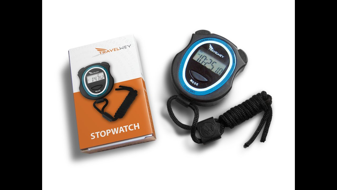 Travelwey Stopwatch Instructions