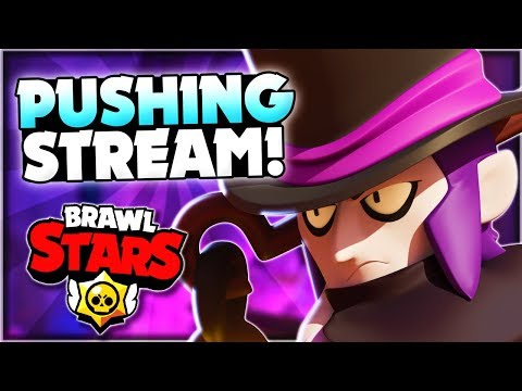 High Level Trophy Pushing Stream! + Friendly Battles With Viewers! - Brawl Stars