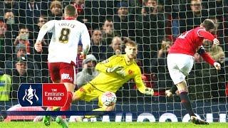 Man Utd 1-0 Sheff Utd - Emirates FA Cup 2015/16 (R3) | Goals & Highlights