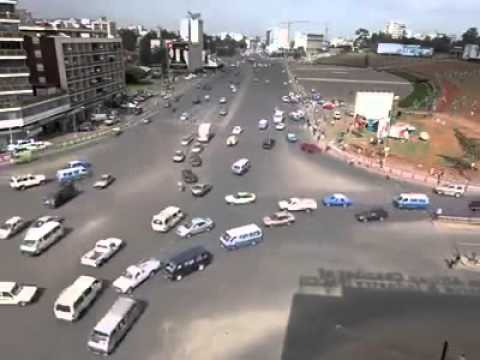 Crazy Driving in Addis Ababa, Ethiopia