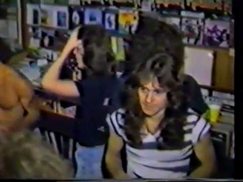Iron Maiden  Instore Signing Session @ Zig Zag Records Brooklyn New York 07.1981