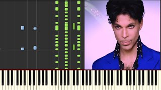Prince - Kiss - Piano (Synthesia)