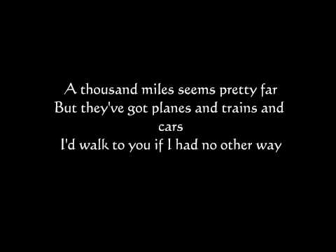 Plain White T's - Hey there Delilah Lyrics