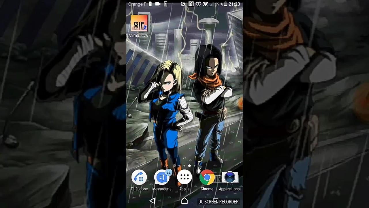 Live Wallpaper Dokkan Battle Lr Youtube