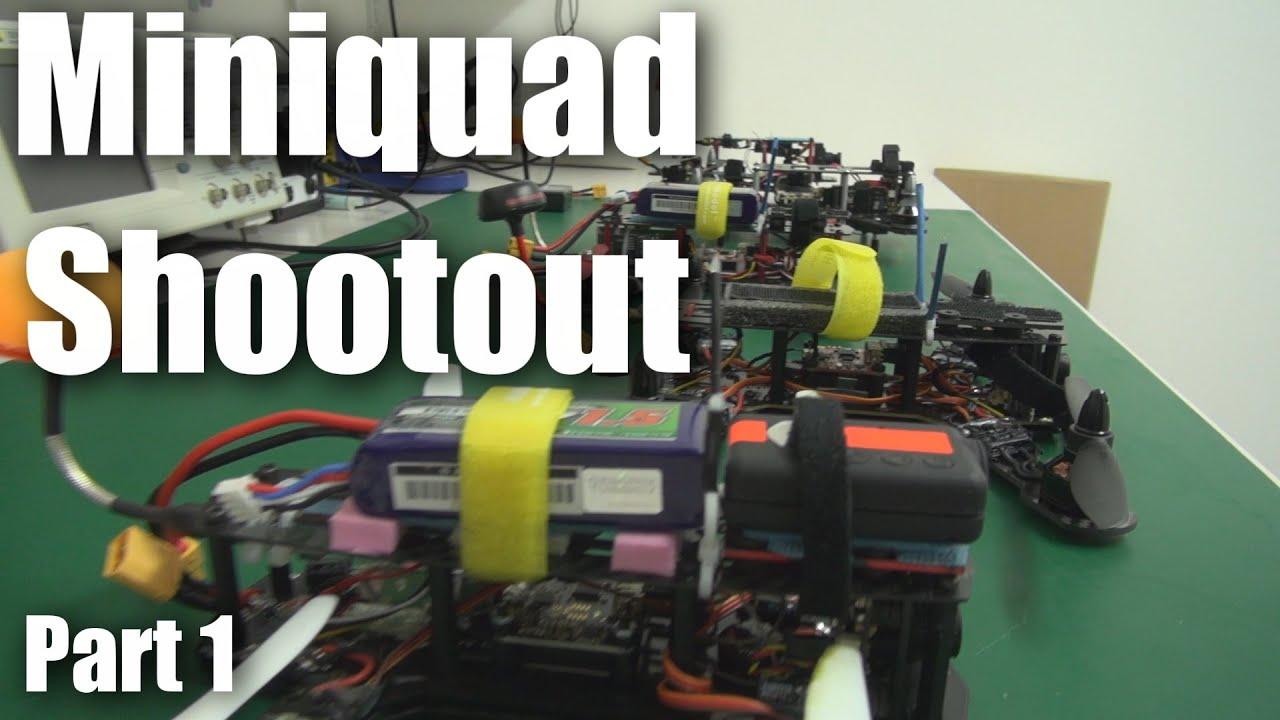 250 FPV mini quadcopter shootout (part 1)