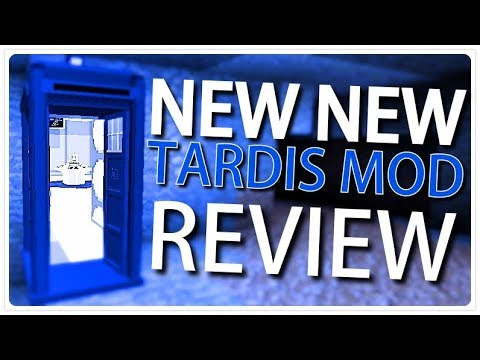 NEW NEW TARDIS Mod REVIEW