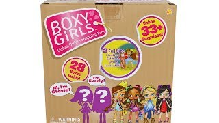 Boxy Girls Limited Edition Stevie and Everly Unboxing Toy Review