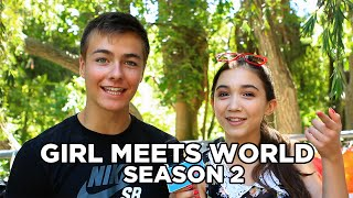 "The Cast of ""Girl Meets World"" Talks Season 2!"