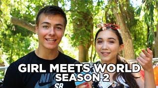 "The Cast of ""Girl Meets World"" Talks Season 2!"