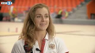 Интервью Е А  Пирожковой на болгарском телевизионном канале БНТ