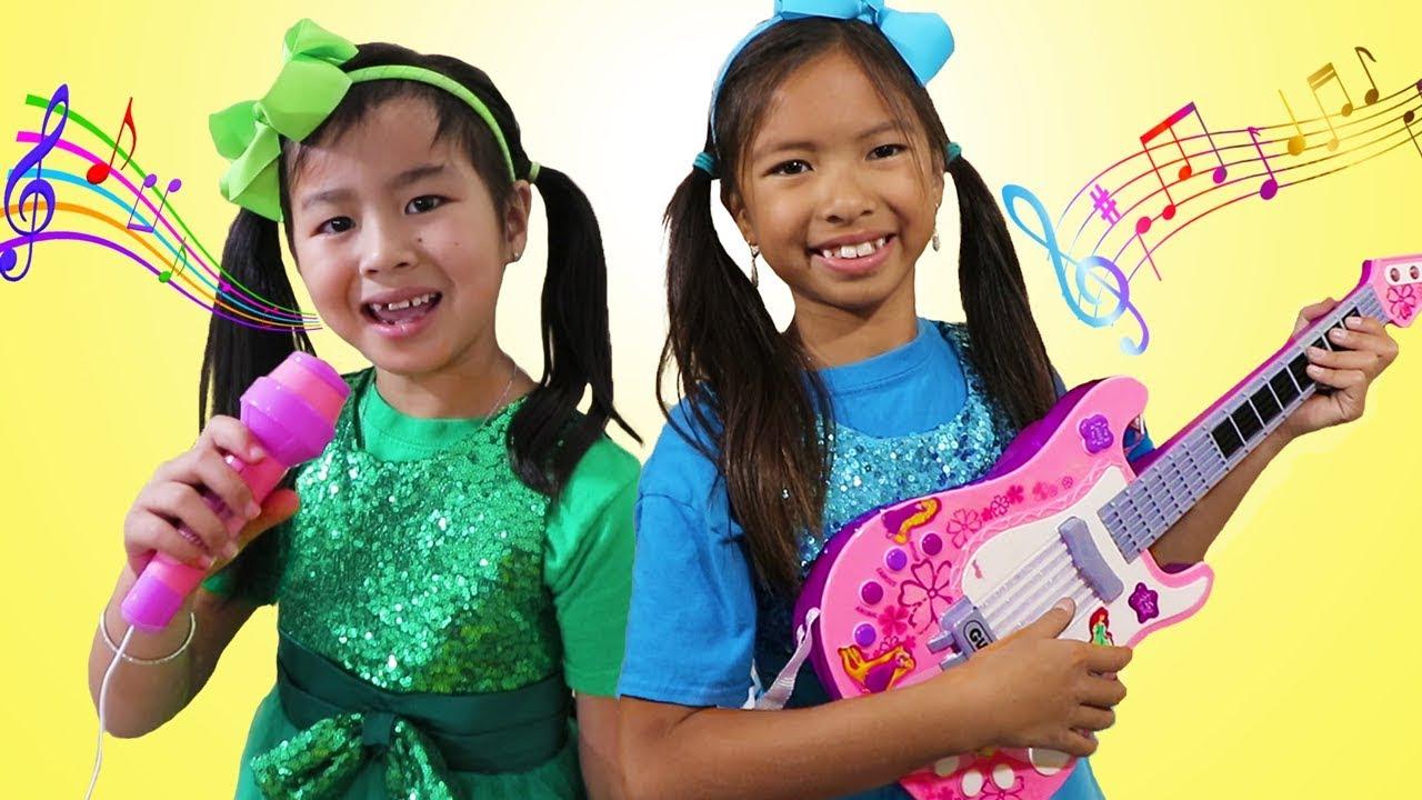 Wendy Jannie Pretend Play Kids Got Talent Nursery Rhymes
