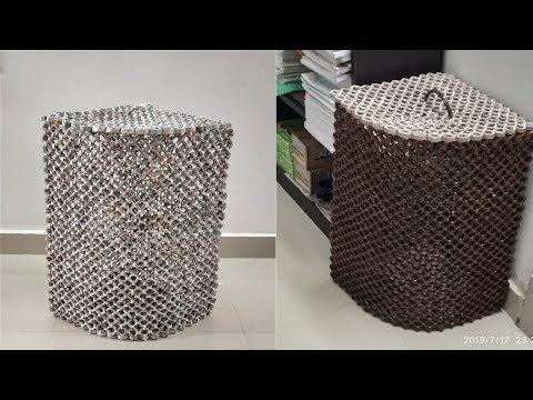 Newspaper Laundry Basket