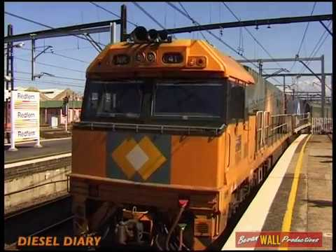 Freight Diversions Through Redfern - April 17th, 1999